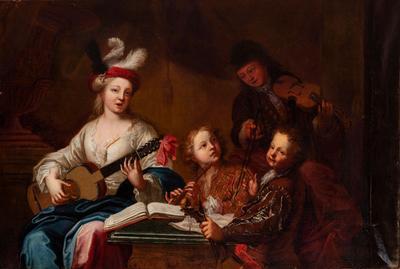 Escuela del norte de Italia; 1700
