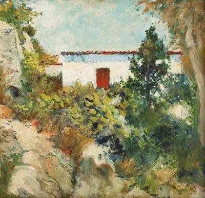 Escuela catalana, siglo XIX. Paisaje