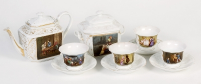 Juego de té. Siglo XIX.
