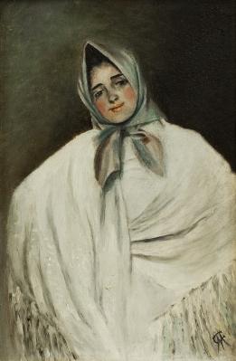 """La Julia"". Atribuido a CUSÍ FERRET, Manuel"