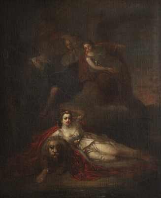 Escuela española, siglo XVIII. Escena mitológica.