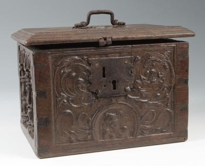 Caja. España, siglo XVI.