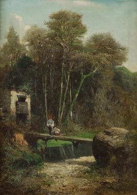 """""""El puente"""", ARMET PORTANELL, Josep"""