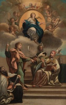 """""""La Asunción"""" Atribuido a Zacarías González Velázquez"""