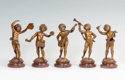 "AUGUSTE MOREAU (Francia, 1834 – 1917).""La banda de música""."