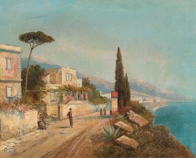 """""""Bahia de Napoles"""". Pietro Torotti"""
