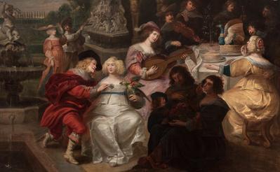 Escuela flamenca; siglo XVII. Sin título