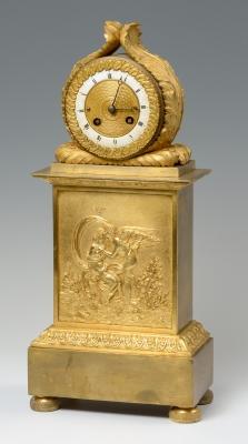 Reloj de mesa. Siglo XIX.