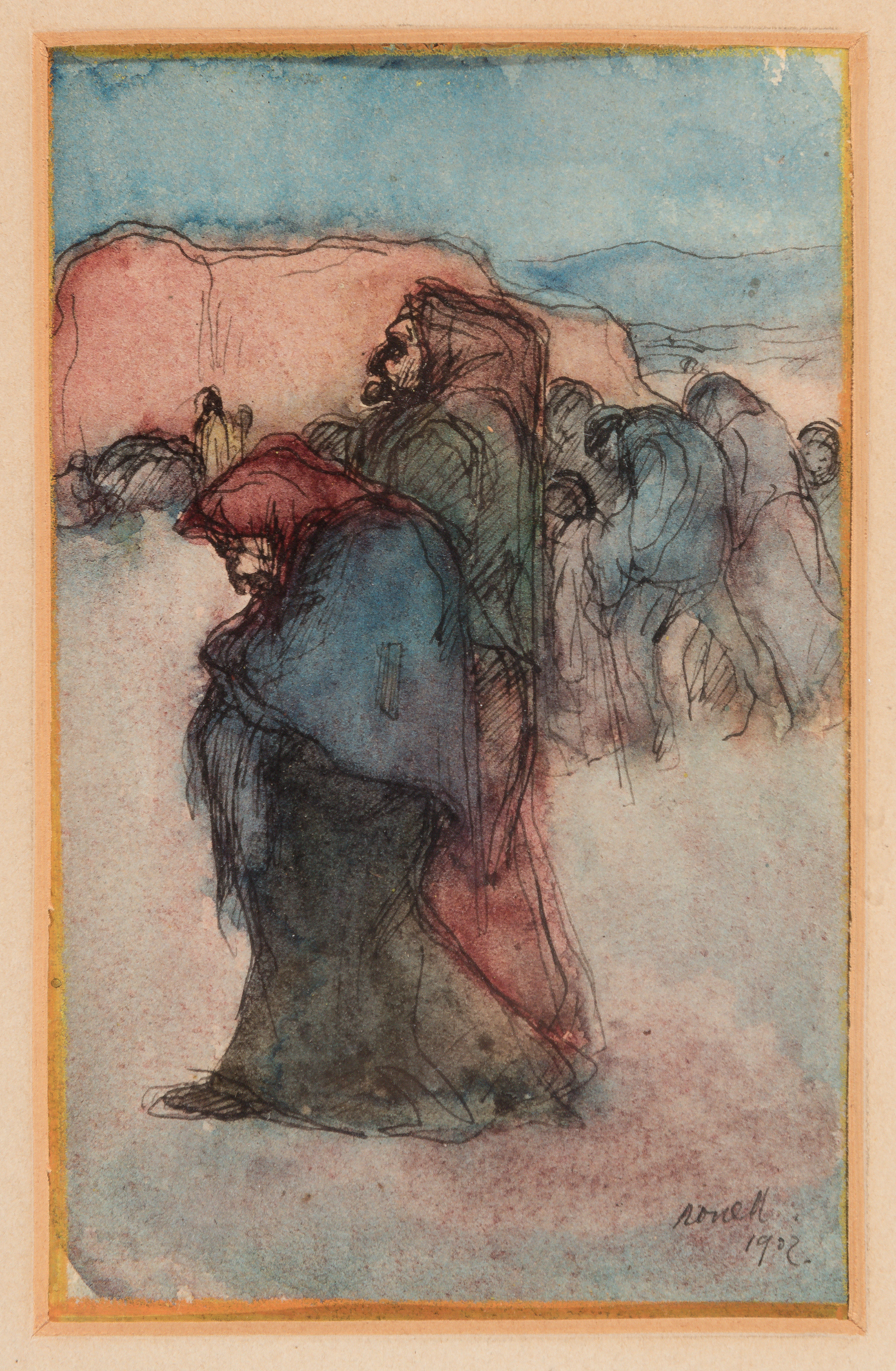 Colección de veinte dibujos; España, finales del siglo...