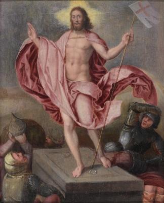 """""""Cristo resucitado""""."""