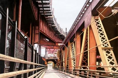 """Queensboro Bridge"", 2016. COBO, Fernando"