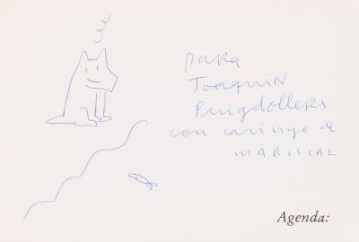 """Agenda Mariscal"", 1984. Javier Mariscal"