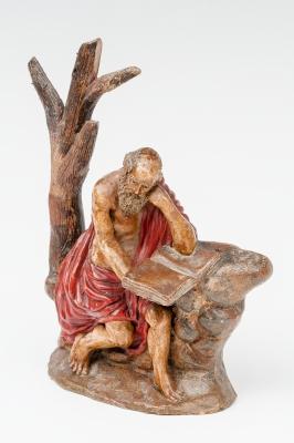 """""""San Jerónimo"""" Escuela granadina, finales del siglo XVI."""