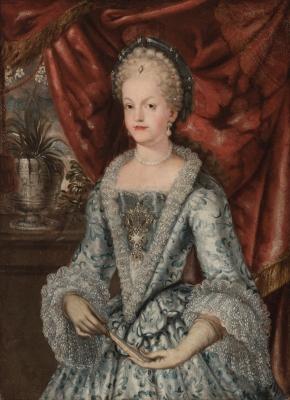"""""""Retrato de Maria Luisa Gabriela de Saboya"""" Taller de M"""