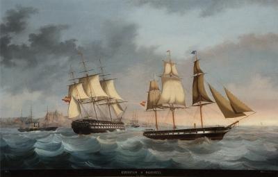 """""""Expedición a Marruecos"""", 1864. Joan Font I Vidal"""