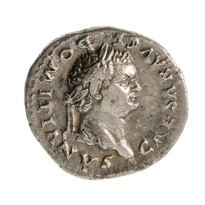 Denario de Domiciano, 77-78 d. C