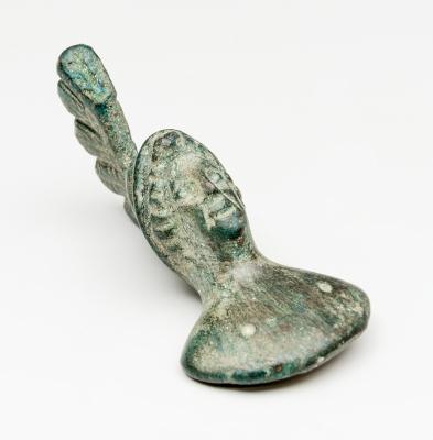 Busto de Minerva; Imperio Romano, siglos I-III.