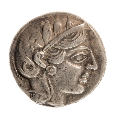 Tetradracma de Ática, siglo V a. C
