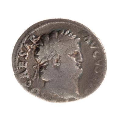 Denario de Nerón, siglo I a. C