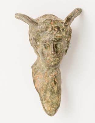 Cabeza de Mercurio; Roma, siglos I-II d. C