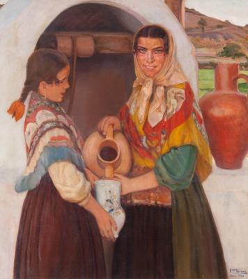 """""""Playeras de Ibiza"""", 1930. FERNANDO VISCAÍ ALBERT"""