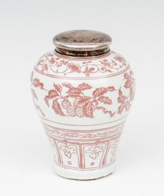 Urna; China, finales del siglo XIX, principios del siglo XX.