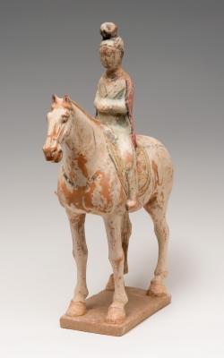 Dama de corte. China, Dinastía Tang, 618-907 d.