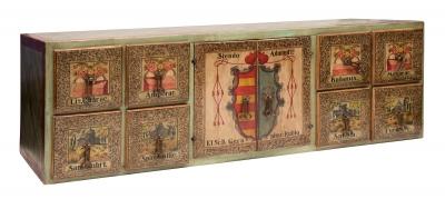 Arquilla de farmacia, España, siglo XIX.