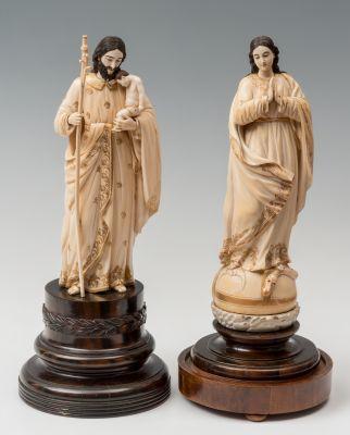 San José con el Niño y la Virgen.