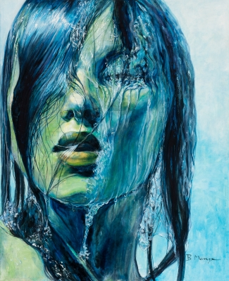 """Cold blue"", 2017. Begoña Monge Moreno"