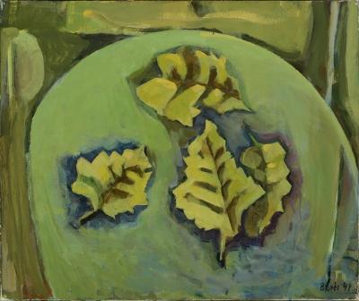"""""""Hojas"""", 1994. BORES LÓPEZ, Francisco"""