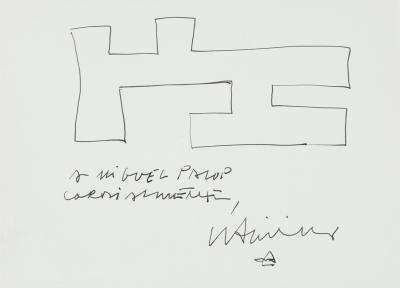Sin título, 1987. CHILLIDA JUANTEGUI, Eduardo