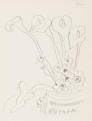 """fleurs"".1942. Henri Matisse"
