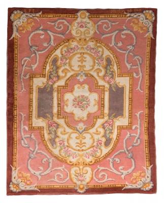 Alfombra de estilo Savonnerie, Real fábrica de tapices, 1921.