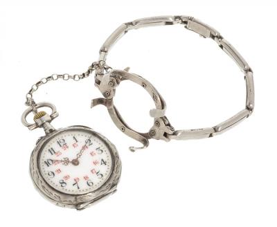 Reloj de bolsillo para mujer.