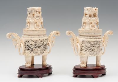 Pareja de Tibores, China, siglo XIX.