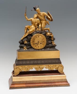Reloj de sobremesa, Francia, primera mitad del siglo XIX.