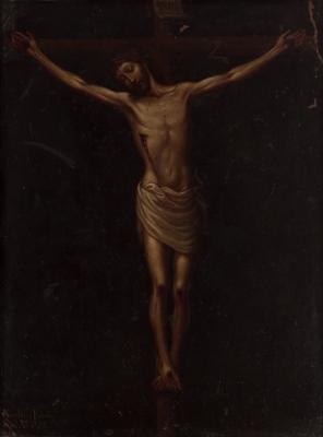 """""""Crucificado"""", 1775. Nicolás Enríquez de Vargas"""
