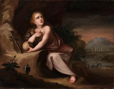 """""""Magdalena"""". Escuela española del siglo XVII."""