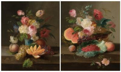 """""""Bodegones de flores y frutas"""""""