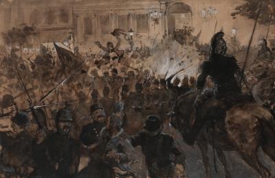 """""""Batalla"""". ENRIQUE ESTEVAN Y VICENTE"""
