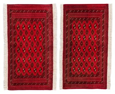 Pareja de alfombras persas. Irán.