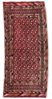 Alfombra persa Baluch, Irán.