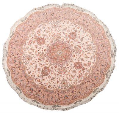 New Persian carpet, Tabriz; Iran.Wool and silk.