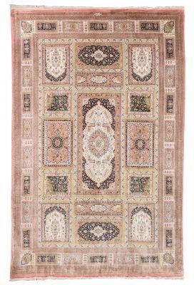 Persian carpet Qom, IranPure silk. 1,200,000 knots / m2.