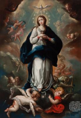"""Inmaculada"". Atribuido a Isidoro de Tapia"