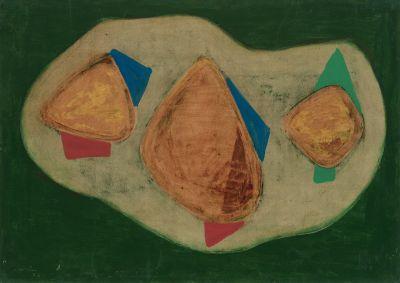 JULI RAMIS (Sóller, Mallorca, 1909- Palma de Mallorca, 1990).Sin título, 1954.
