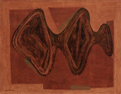JULI RAMIS (Sóller, Mallorca, 1909- Palma de Mallorca, 1990).Sin título, 1953.