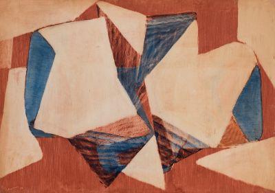 JULI RAMIS (Sóller, Mallorca, 1909- Palma de Mallorca, 1990).Sin título, 1955.