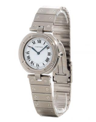 Reloj Cartier Santos Rondé, automáticoCaja en acero.